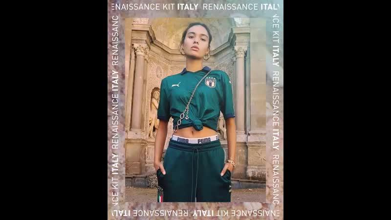 PUMA и футбольная сборная Италии презентовали новый комплект формы.
