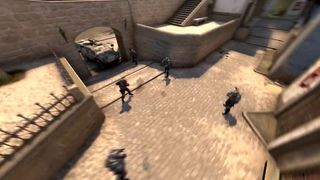 Highlight CS:GO on Mirage (Thes vs MIX) / Faceit / Eco round