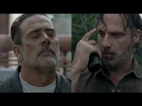 Ниган узнаёт что Карл мёртв Ходячие Мертвецы
