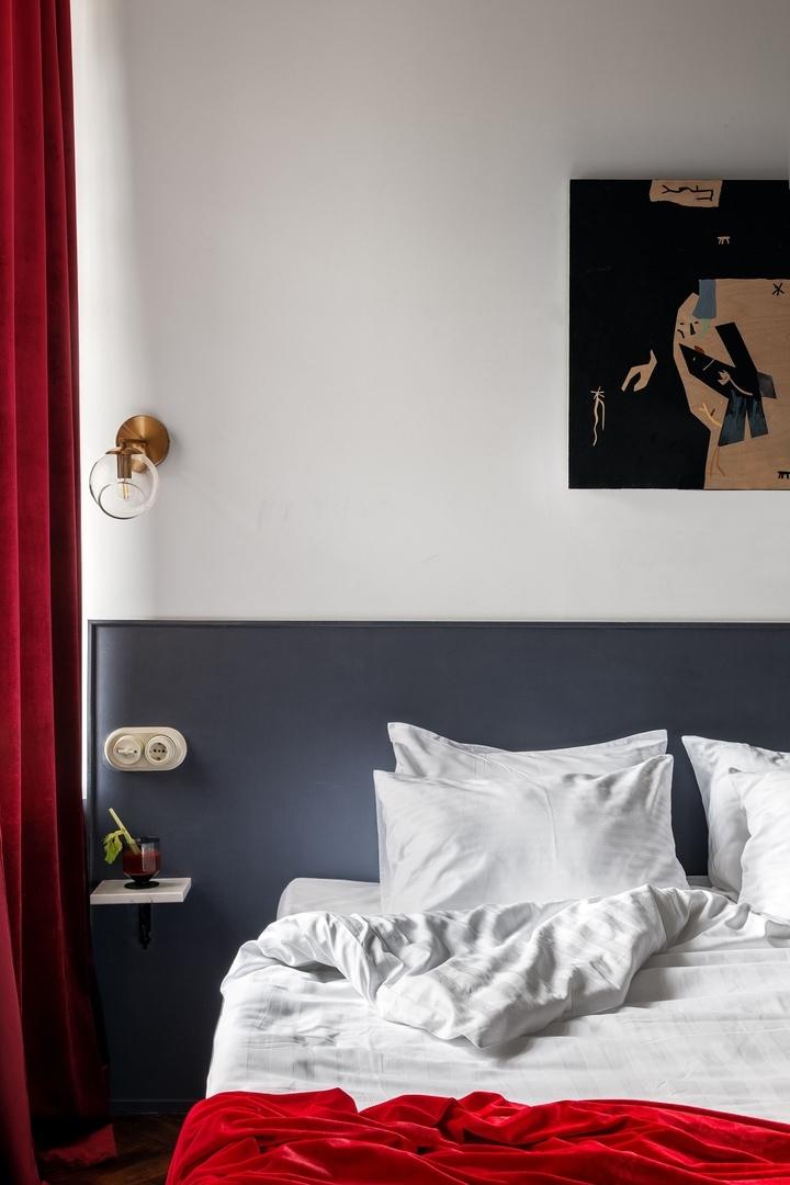 Бережно отреставрированные апартаменты Sands Rooms в доме 1911 года по проекту NOMESSPROCESS || 01