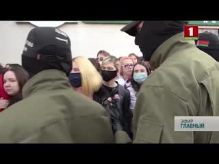 Блестящий и Воскресный марши в Минске мнения людей. Главный эфир