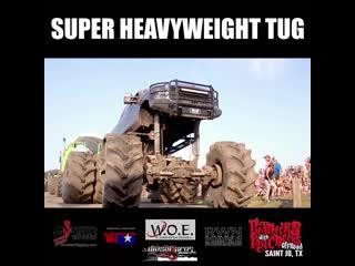Rednecks with paychecks super heavyweight truck tug