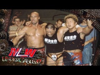 [#My1] MLW Underground #6: Christopher Daniels, Dick Togo & Ikuto Hidaka vs. Los Maximos & Quiet Storm