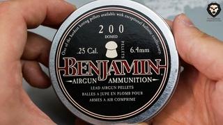 Пули для пневматики Benjamin Discovery Domed  мм (200 шт, 1.8 г) видео обзор