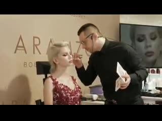 "модель ""Photomodel style"" для МК от ""Aramzo"" (backstage)"