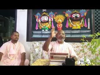 Шрипад БВ Шридхар Махарадж - слава садху-санги (Васиштха и Вишвамитра (ЧБ, Мадхья, глава 1) + Вену-гита (ШБ, ). Джаганнатха Пури (вечер )