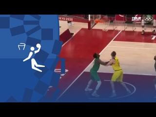 Олимпиада-2020. Баскетбол (муж). Групповой турнир. Австралия — Нигерия. Обзор матча