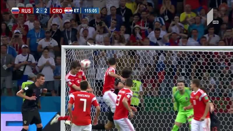 რუსეთი 2-2 ხორვატია (პენ. 3_4) 1!4 ფინალი