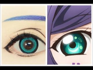 Toujou Nozomi | Tutorial : Anime Eye Makeup 212