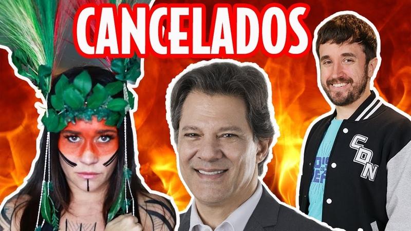 De Negrini a Haddad a central de cancelamento da esquerda Galãs Feios