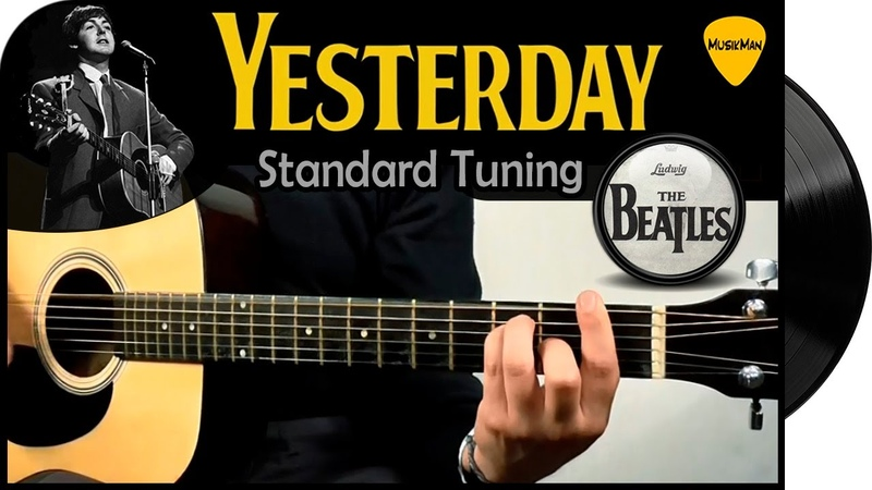 YESTERDAY 🎸 The Beatles GUITAR Cover MusikMan 017 B