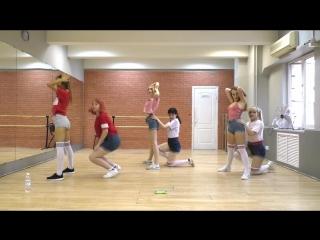 Aoa - 빙글뱅글 (bingle bangle) 안무영상 (dance practice) full ver. | 2fab4u ver.