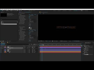After effects tutorial retro style title intro in after effects no plugins