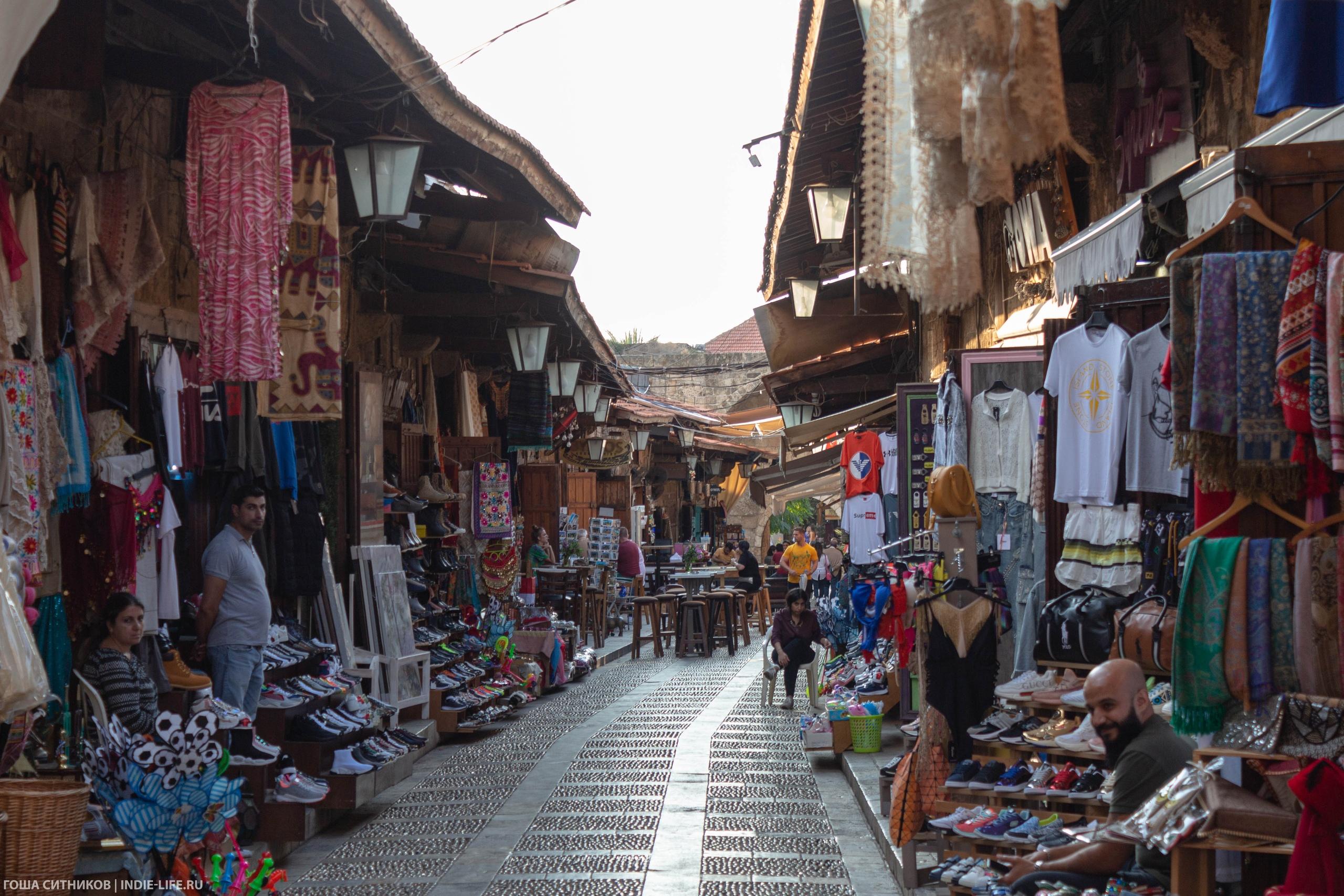 Туристический рынок. Ливан