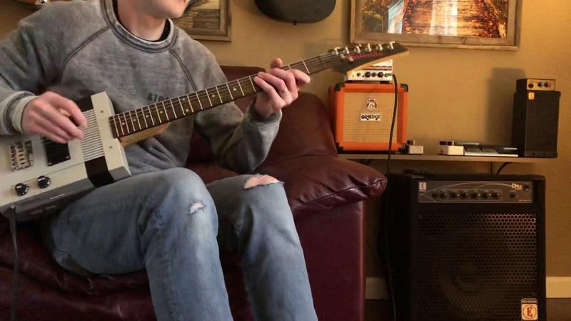 NES Guitar Ibanez Components Scrap Metal Studios