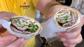 ШАУРМА в Турции г. Сиде Как готовится самая ВКУСНАЯ ШАВЕРМА | Уличная еда в Турции