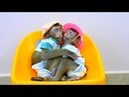 Most Adorable!Sovan Baby Sovanny together sleeping such adorable warm after Mom wear hat clothes
