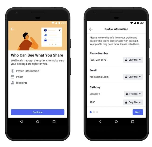 Facebook обновляет свой инструмент «Проверка конфиденциальности», изображение №2