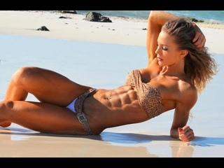 Rachel Scheer fitness perfect muscle abs girl