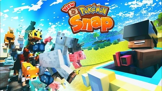 MINECRAFT but it's POKEMON SNAP! (360 Competition Animation!)