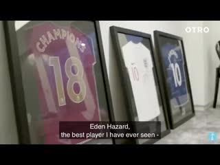 Man city's ben mendy about eden
