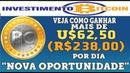 【INVESTIMENTOBITCOIN】►Pagando Vejo como ganhar $62 por dia Grande oportunidade
