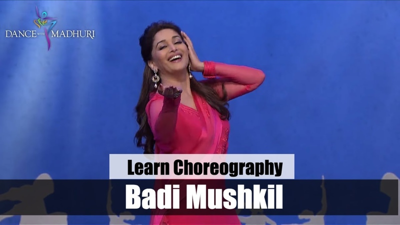 'Badi Mushkil' Lajja Dance Choreography by Madhuri Dixit Dance With Madhuri