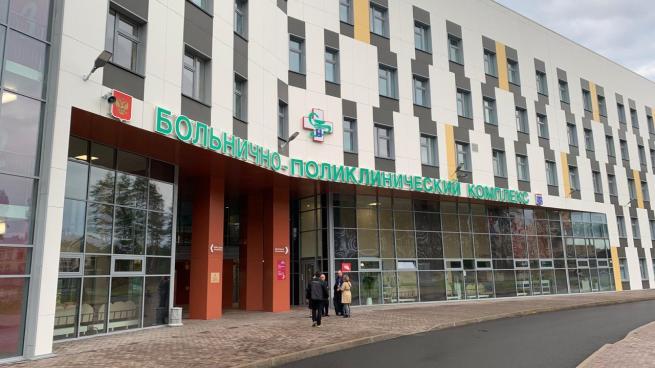 Первых пациентов в новой поликлинике в Сертолово (Всеволожский район) ждут уже н...