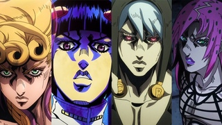 JoJo's Bizarre Adventure: Golden Wind - All Character Themes