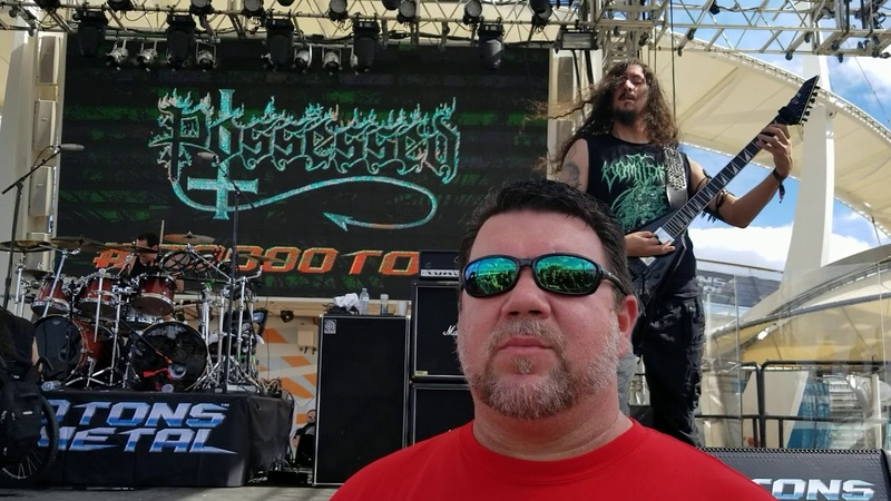 Possessed Swing of the Axe live 70K Tons of Metal 2020