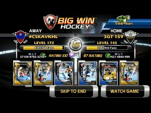 Big Win Hockey 118 VKHL Championship Supercup SGT 159 CSKA