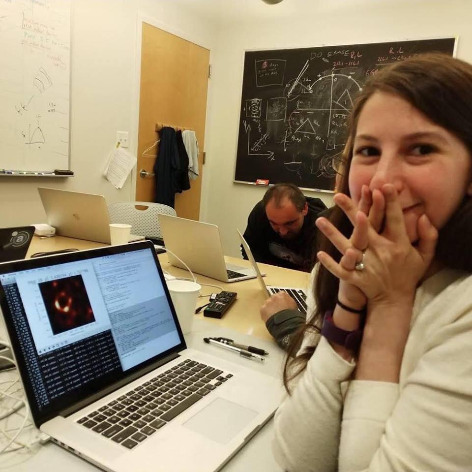 This is Dr Katie Bouman the computer scientist behind the first ever image of a black-hole. She developed the algorithm that turned telescopic data into the historic photo we see today.