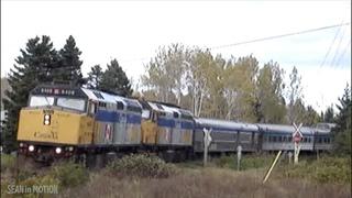 Riding the rails of the Gaspé, Quebec coast, with Via Rail trains 16 & 17 (the 'Chaleur')