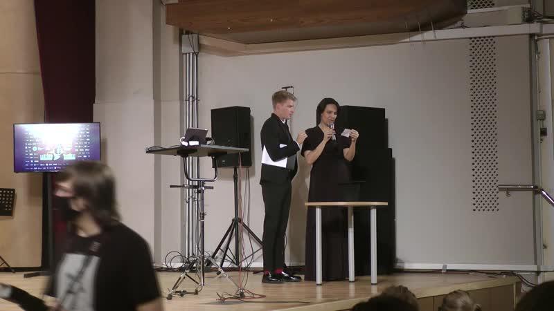 Импровизация Римляне играют в дартс кролики бегают а Берлинская стена снова строится Мария Айрапетова фортепиано