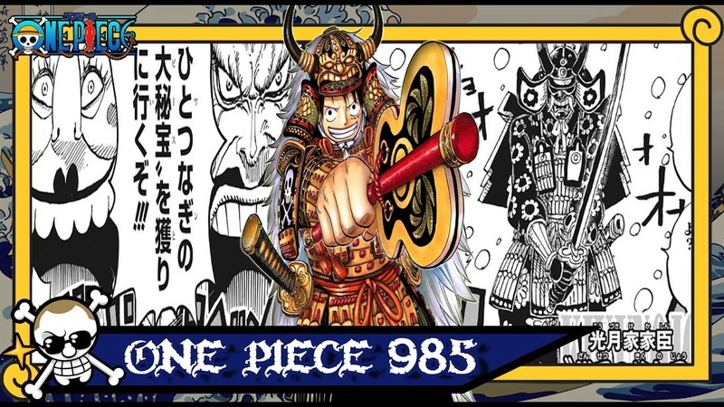 One Piece 985 - O Grande Plano de Kaido!!