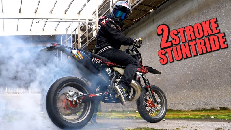 2 Stroke Stuntride RAW Sound