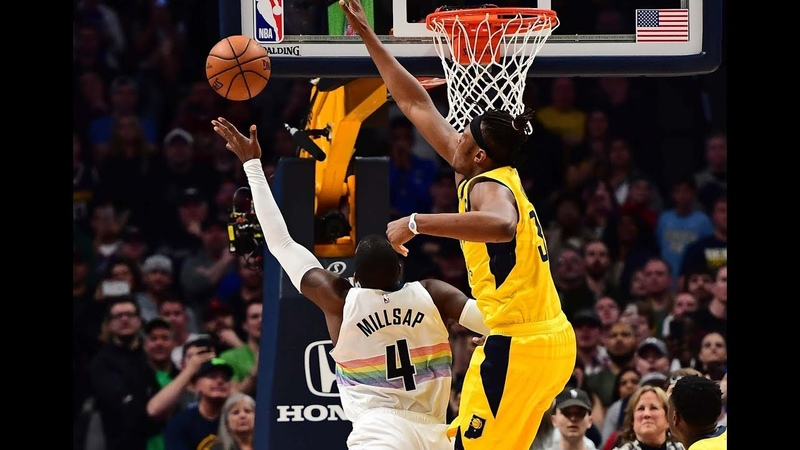Paul Millsap Gets to the Rack for Game Winning Shot vs Indiana Pacers