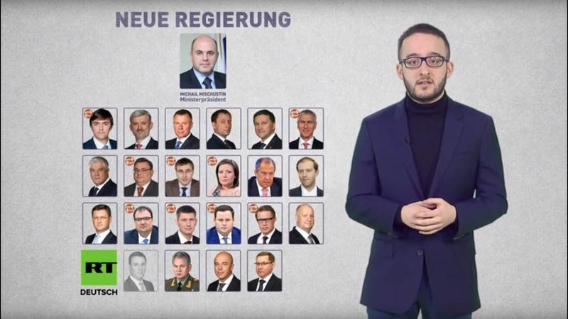 Russlands neues Kabinett Die wichtigsten Personalien