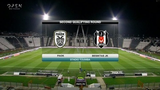 Champions League 2020-21  2nd Qualifying Round  PAOK - Besiktas