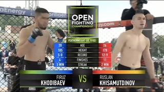 Руслан Хисамутдинов VS Фируз Ходибаев | Россия VS Таджикистан | СТРАШНЫЙ УДАР В ПАХ | OPEN FC 5 |18+