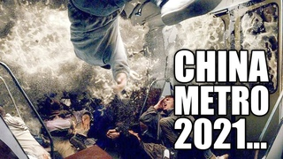 APOCALYPSE in CHiNa! People are trapped! Severe flooding in the subway! Lord help!