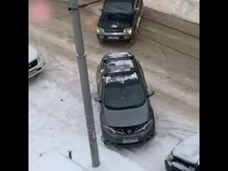 Парковочные войны в Новосибирске