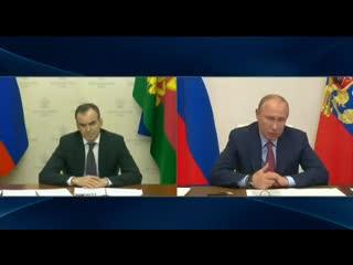 Президент провел рабочую встречу с губернатором края