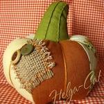 Текстильная тыква с хвостиком (МК)