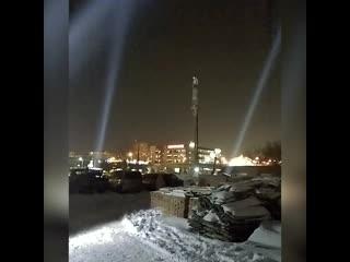 Военные устроили праздник на Крещение в ростовском храме ()