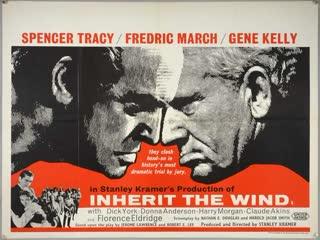 Inherit the Wind (1960)  Spencer Tracy, Fredric March, Gene Kelly