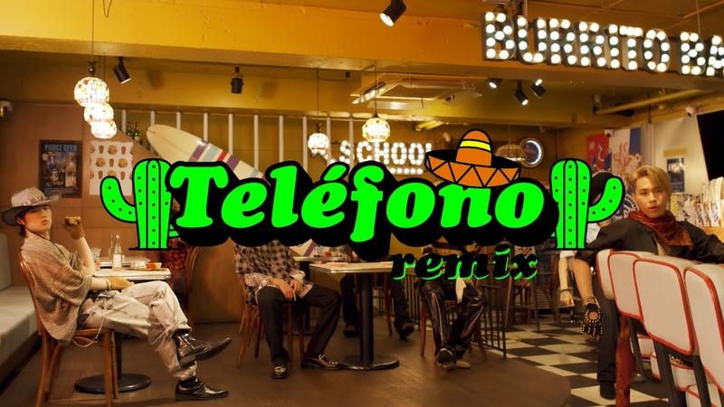 TELÉFONO Remix Lyric Video pH 1 HAON Woodie Gochild Jay Park Sik K TRADE L Big Naughty