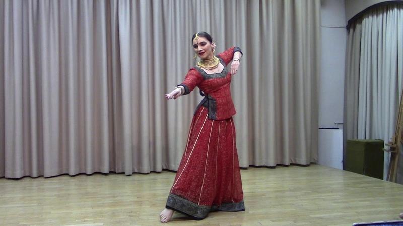 Kathak Shudh Nritya Dance in Ek Taal Svetlana Nigam