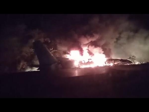 Более 20 человек погибли в результате крушения самолёта Ан 26 под Харьковом