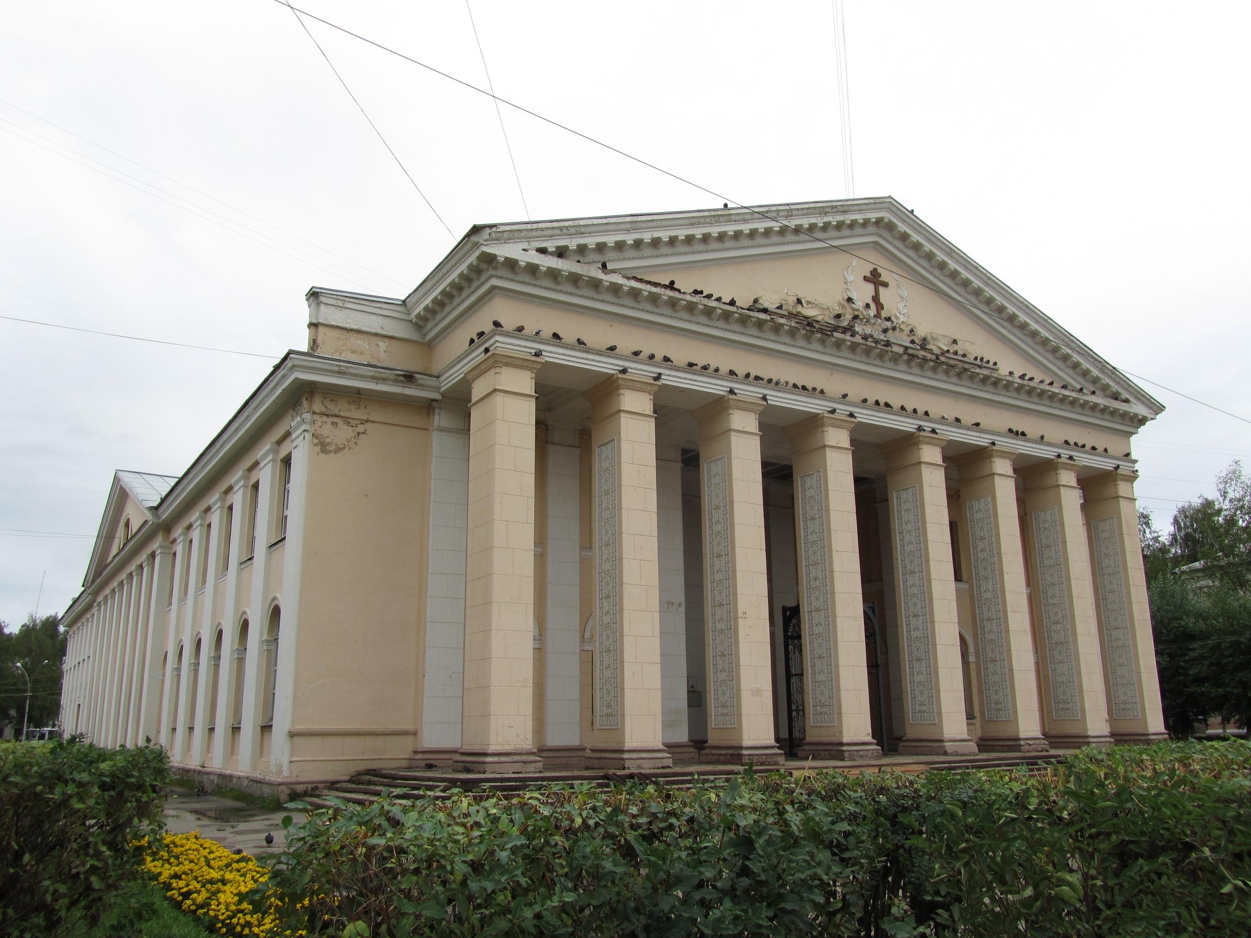 Церковь в бывшем дворце культуры в Ухта